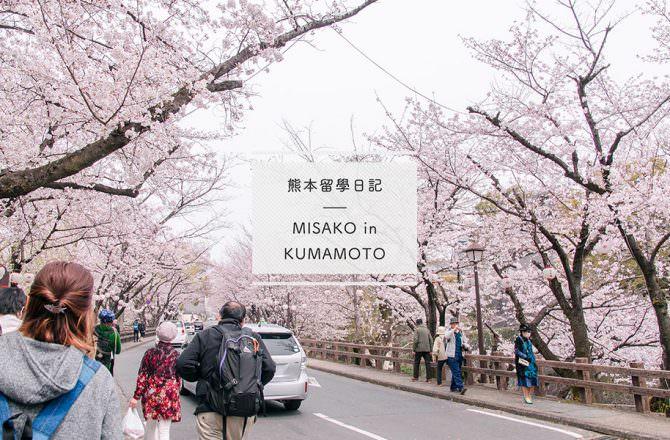 【熊本留學】到熊本城賞櫻野餐,難忘的留學生交流活動